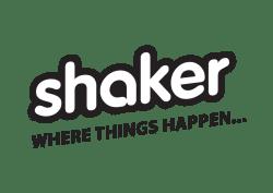Logo for Shaker