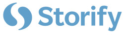 Logo for Storify