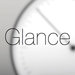 Logo for Glance Clock