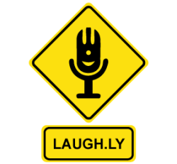 Logo for Laugh Radio